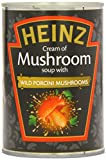 Heinz Cream of Mushroom Soup with Wild Porcini Mushrooms 400 g (Pack of 12)