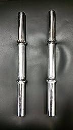 Standard Pair Dumbbells Barbells Handles Bars Exercise Weight Lifting Dumb Bells