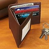 Personalized Royce Leather Bi-Fold Wallet