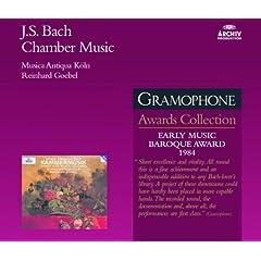 J.S. Bach: Partita for Solo Flute in A minor, BWV 1013 - 1. Allemande