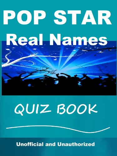 Pop Star Real Names Quiz Book