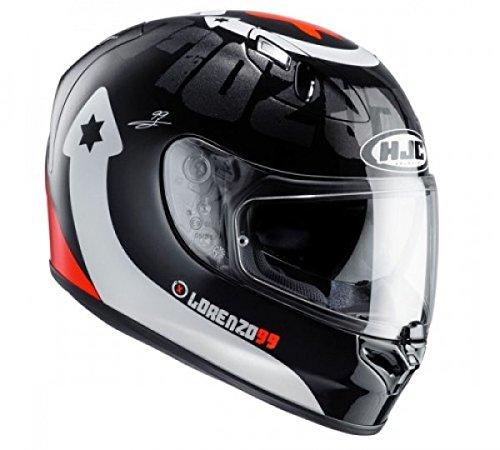 HJC - Casque moto - HJC FG-ST LORENZO DEVIL 99 MC1 -...