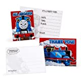 Thomas the Tank Engine Invitations and Thank-You Notes (8 each)