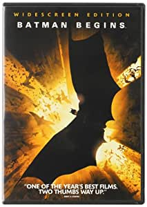 Batman Begins (Single-Disc Widescreen Edition)