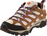 Merrell Women's Moab Waterproof Hiking Shoes – Earth/ Orchid 8
