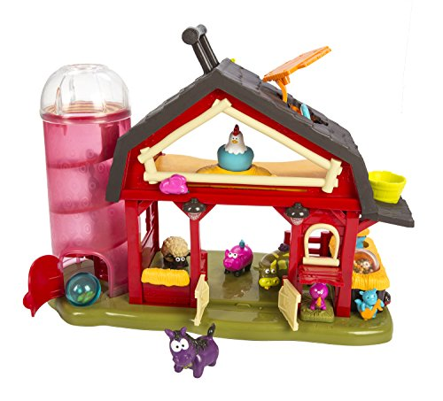 B. Baa-Baa-Barn Farm House - Phthalate and BPA Free - Moving Windmill with Animal Sound Effects - 7 Animal Figures Including Cow, Pig, Sheep, Horse, and More! - For Ages 2 and Up - 1