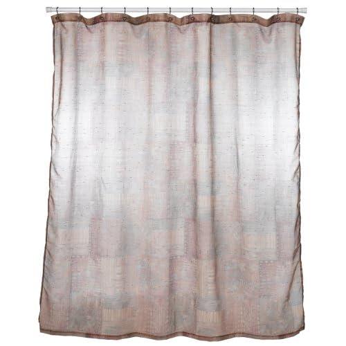 Amazon Croscill Minerale Copper Shower Curtain