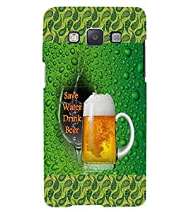 GADGET LOOKS PRINTED BACK COVER FOR SAMSUNG GALAXY E5 MULTICOLOUR