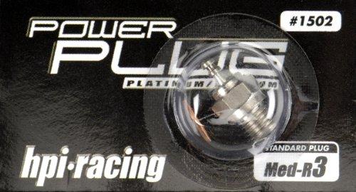 HPI Racing 1502 Glow Plug R3, Medium - 1