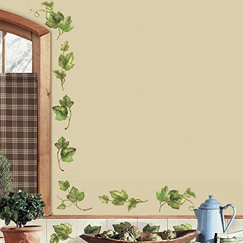 RoomMates RMK1219SCS Evergreen Ivy Peel & Stick Wall Decals