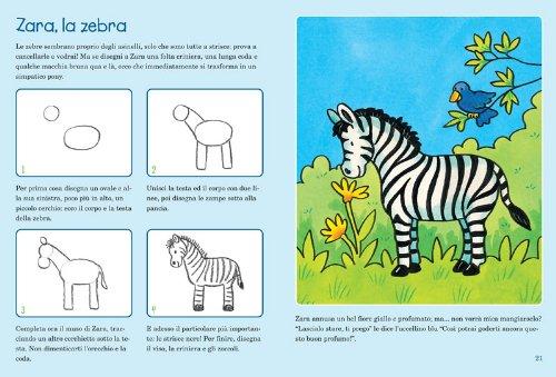 Libro gli animali dello zoo safari corso di disegno per - Immagini di animali dello zoo per bambini ...