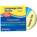 NewPath Learning Language Arts Interactive Whiteboard CD-ROM, Site License, Grade 5