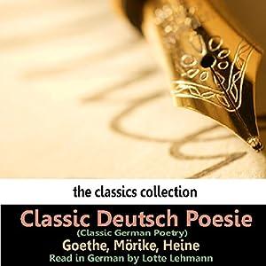 Classic Deutsch Poesie (Classic German Poetry) Audiobook