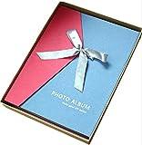 (マイホット) MyHot DIY スクラップ ブッキング 自分で作る リボン 付き フォト アルバム お祝い プレゼント などに。 (フレッシュ Photo Album)