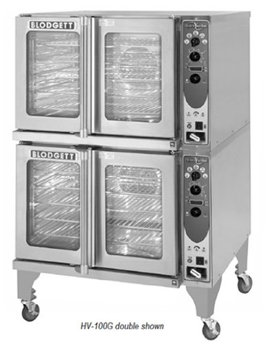 Blodgett Hv-100Gdouble Double Full Size Gas Convection Oven - Lp, Each