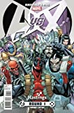 img - for Avengers vs X-Men 1 Hastings Deadpool Variant (Avengers Vs. X-men, Volume 1) book / textbook / text book