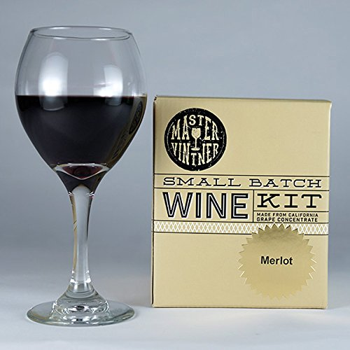 Master Vintner® Small Batch 1 Gallon Merlot Wine Recipe Kit