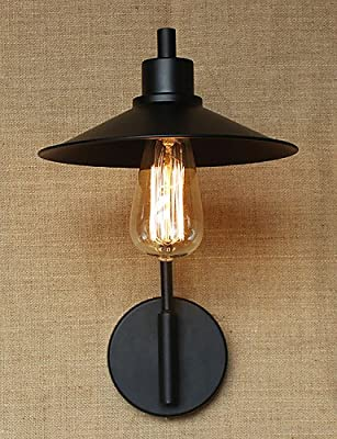 SSBY Retro Decorative Wrought Iron Wall Sconce