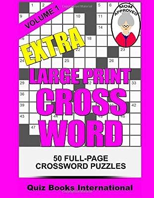 Extra Large Print Crossword Volume 1