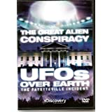 DISCOVERY CHANNEL - THE GREAT ALIEN CONSPIRACY - UFOS OVER EARTH - THE FAYETTEVILLE INCIDENT - NEW BUT NOT SEALED - VERY COLLECTABLE AND RARE TO FIND