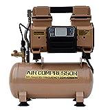 HAIGE エアー コンプレッサー 100V ブラシレス オイルレス 静音 最大圧力0.8Mpa HG-DW-DC800X1