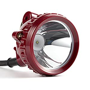 Kohree KL6LM 5W 25000Lux LED Miner Head Light Mining Hunting Camping Headlight