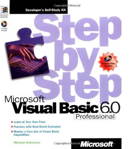 Microsoft® Visual Basic®  Professional 6.0 Step by Step (Step by Step Developer)