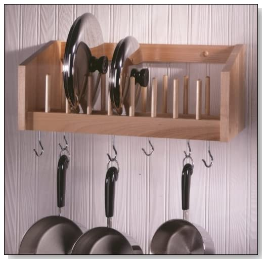 Pot & Lid Rack