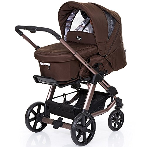 ABC Design Kombi-Kinderwagen Turbo 4 - Cacao braun, muster