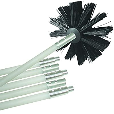 Deflecto Dryer Duct Cleaning Kit, 12' (DVBRUSH12K/6)