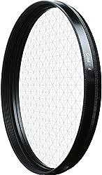 B + W 58mm 8X Cross Screen Glass Filter