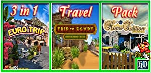 Travel Pack - 3 in 1 - Hidden Object Game [Download] from BLUEARTSTUDIOS-105397-105397