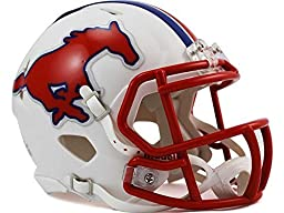 NCAA Southern Methodist (SMU) Mustangs Speed Mini Helmet by Riddell Inc.