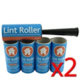Lint Roller - Pet Hair Remover - Pack of 10