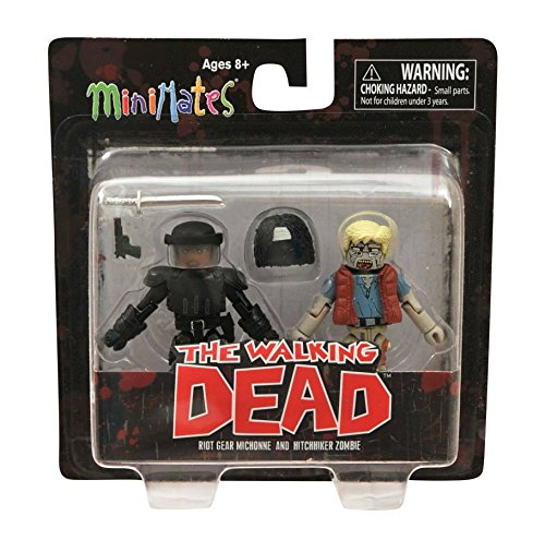 Walking Dead Minimates Wave 5 - Michone and Zombie