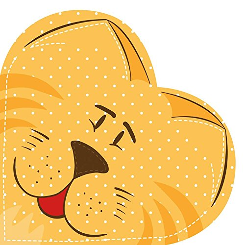 pedigree-cat-pack-of-12-heart-shaped-paper-napkins-3ply-children-kids-party-design