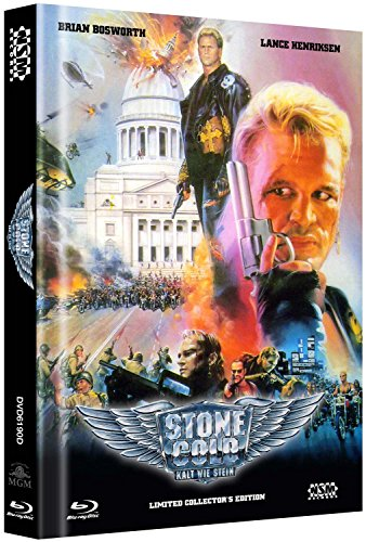 Stone Cold - Kalt wie Stein inkl Bonus DVD Stone Cold 2 - uncut (Blu-Ray+ 2DVD) auf 250 limitiertes Mediabook Cover D [Limited Collector's Edition] [Limited Edition]