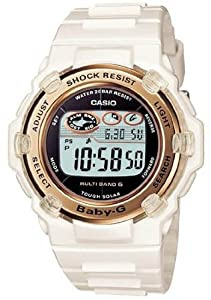 Casio Baby-G BGR3003-7A White Resin Band Women's Watch