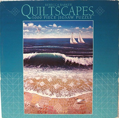 Oceanwaves Quiltscape by Rebecca Barker (1000 Pieces)