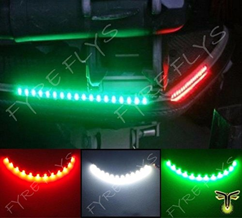 3x-Boat-Kayak-Navigation-Lights-LED-Lighting-REDGREENWHITE-12-Waterproof-Marine-LED-Strips