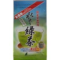 大井川茶園 お徳用 抹茶入水出し緑茶ティーパック 5g×50P