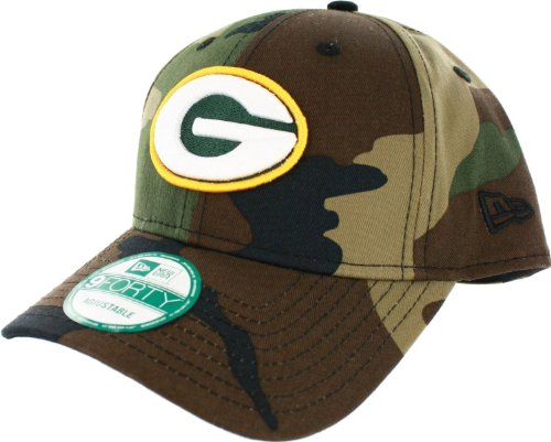 NFL Green Bay Packers Basicamo 9Forty Adjustable Cap at Amazon.com