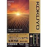 インクジェット プロ写真紙 高光沢 厚手 A3ノビ KJ-D10A3B-10
