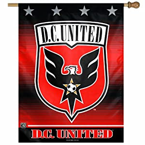 MLS DC United 27-by-37-Inch Vertical Flag by WinCraft