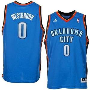 Buy NBA adidas Russell Westbrook Oklahoma City Thunder Youth Revolution 30 Swingman Jersey - Light Blue by adidas