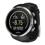Suunto Unisex Spartan Sport Black (HR) Digital Display Outdoor Watch, Black Silicone Band, Round 50mm Case (Color: Black)