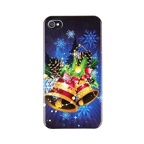 Koala group [ cartone animato carino serie di Natale ] Santa / pupazzo di neve / Natale modello / regalo invernale Custodia per iPhone 6 /6s---campane di