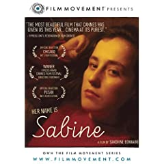 Her name is Sabine DVD cover