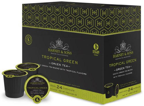 Harney and Sons Tropical Green Tea Capsules (24 Capsules)