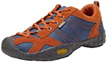 KEEN Ambler Hiking Boot (Toddler/Litte Kid/Big Kid),Ensign Blue/Rust,6 M US Big Kid